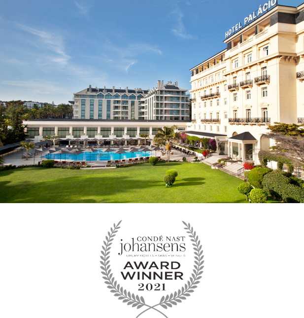 2021 Condé Nast Johansens Awards Best Spa Hotel Palácio Estoril