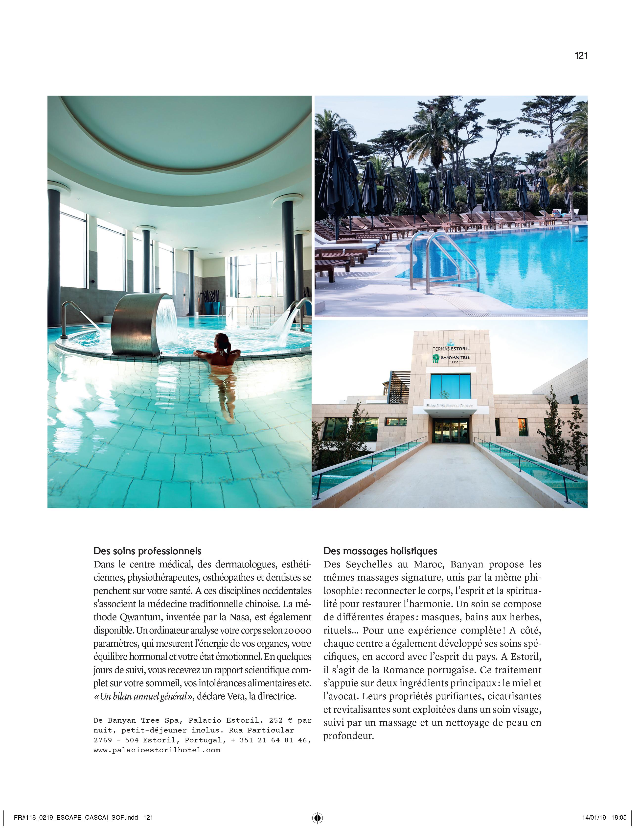 Marie Claire Hotel Palácio Estoril Banyan Tree Spa
